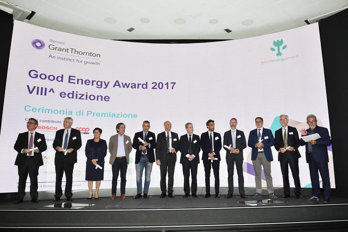 #alloraspengo al Good Energy Award 2017